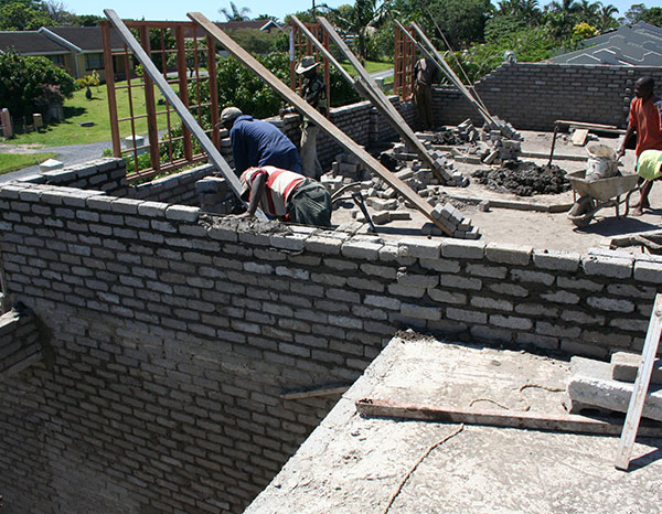 Port Shepstone Precast is the top local supplier for all your concrete brick requirements